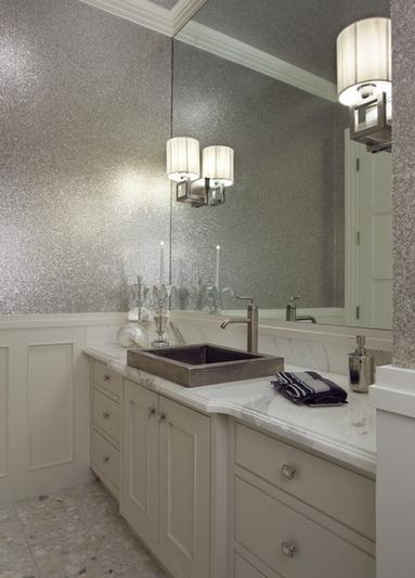 Effetto glitter: le ultime tendenze per dare un aspetto brillante alle pareti...
