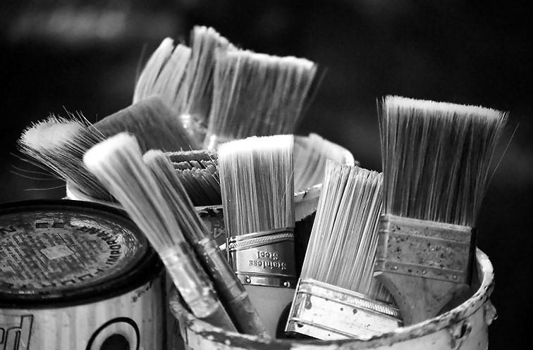 Come si scelgono i pennelli per dipingere casa? I consigli ColorPIÙ